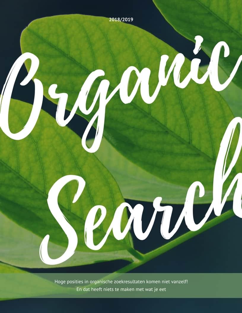 SEO in organischie zoekresulaten
