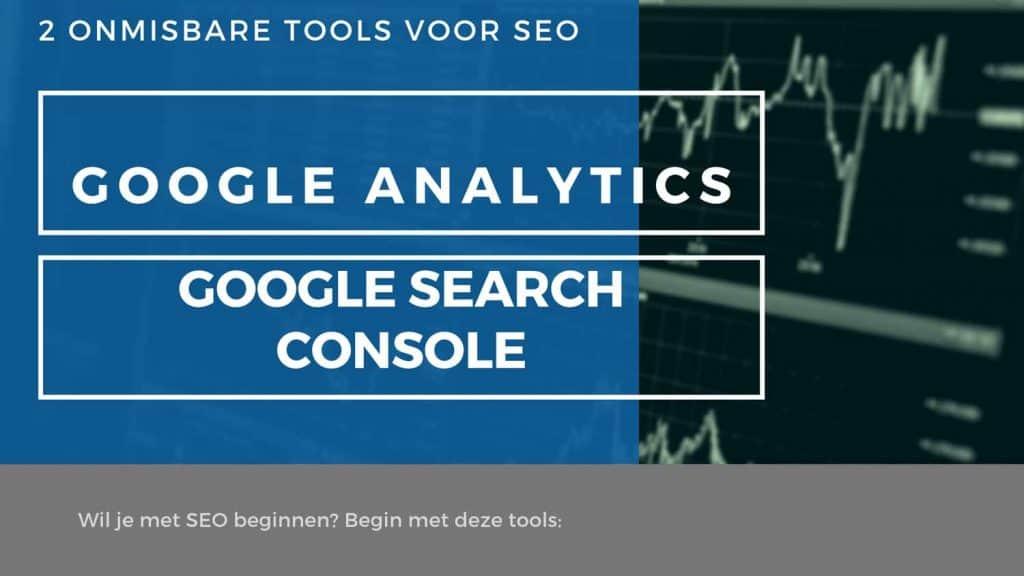 google analytics en google search console