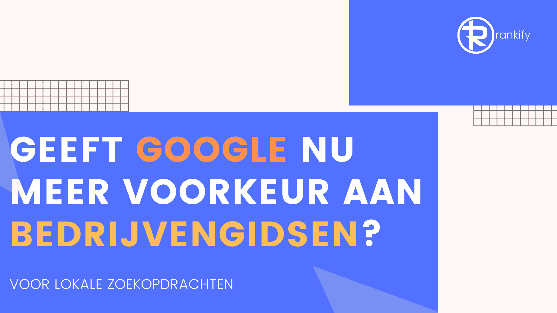 bedrijvengidsen lijken te winnen in google