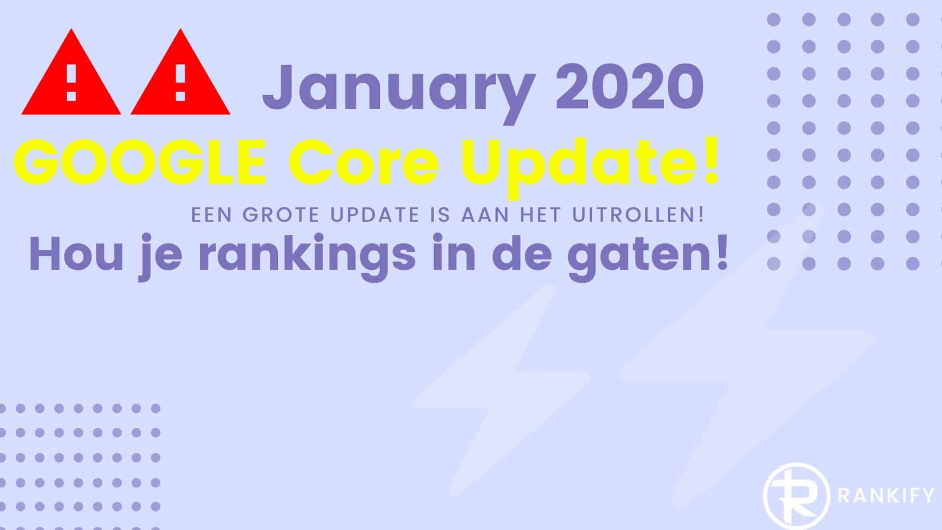 januari 2020 google update