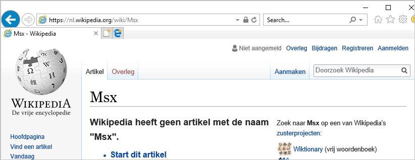 wikipedia hoofdletter probleempje